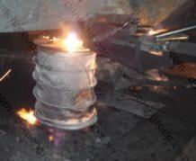 устройство защиты струи металла