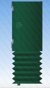 гофра составная привода ДТГ4